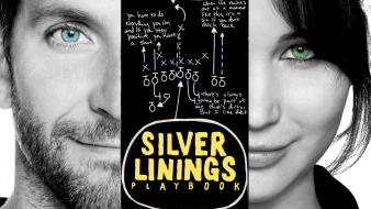 Movies bradley cooper jennifer lawrence silver linings playbook wallpaper