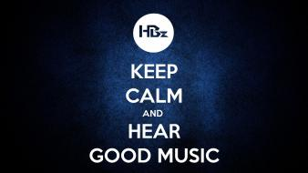 Music keep calm wallpaper
