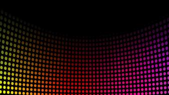 Music spectrum disco dots colors wallpaper
