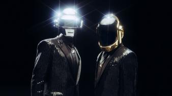 Music suit daft punk helmets wallpaper