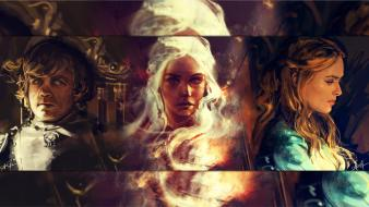Of thrones tyrion lannister daenerys targaryen cersei wallpaper