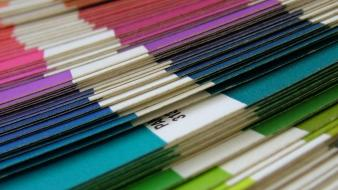 Paper pantone color spectrum wallpaper