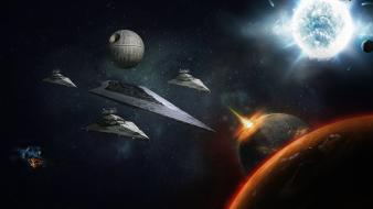 Star wars death digital art destroyer wallpaper