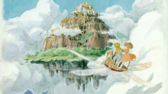 Studio ghibli laputa castle in the sky wallpaper