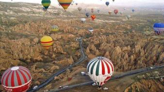 Turkey holidays cappadocia travel balloons kapadokya wallpaper