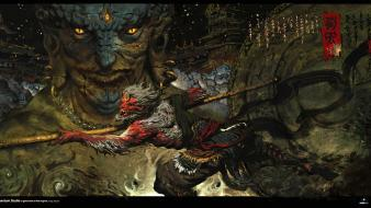 Video games artwork wukong wallpaper