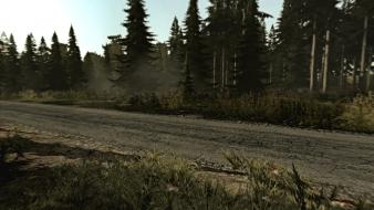 Video games forest arma 2 roadside wilderness wallpaper