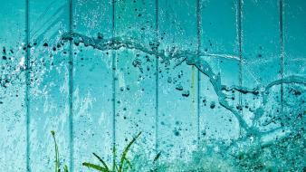 Water rain wallpaper