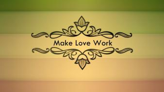 Work love artwork indie rock band you auletta Wallpaper