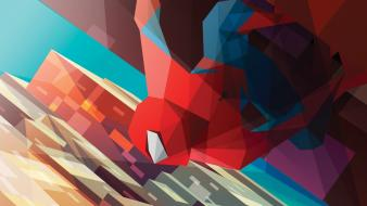 Abstract spider-man marvel comics liam brazier wallpaper