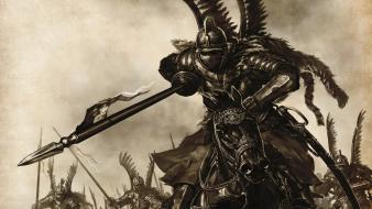 Allmight black knight hussar mount mount blade wallpaper