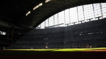 Baseball stadion wallpaper