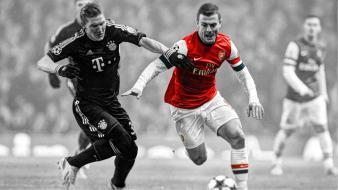 Bastian schweinsteiger gunners jack wilshere arsenal london wallpaper