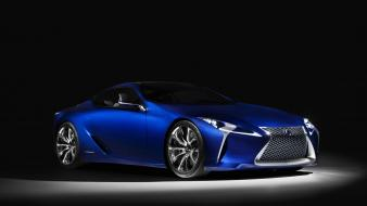 Blue cars lexus concept art vehicles Wallpaper