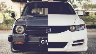 Cars front tuning honda civic wallpaper