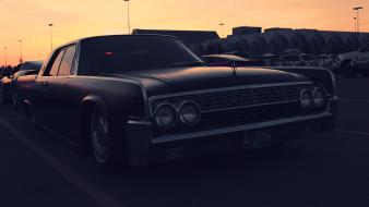 Cars lincoln slammed Wallpaper