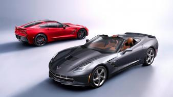 Cars stingray convertible chevrolet corvette 2014 c7 wallpaper
