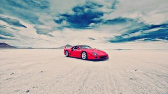 Cars vehicles ferrari f40 wallpaper