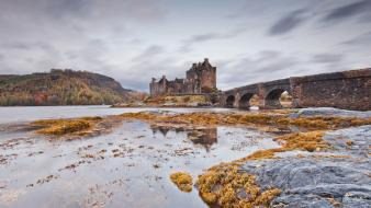 Castles bridges wallpaper