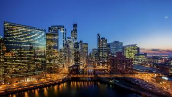 Chicago usa city skyline cities wallpaper