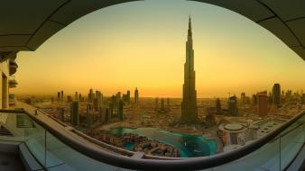 Cityscapes dubai united arab emirates wallpaper