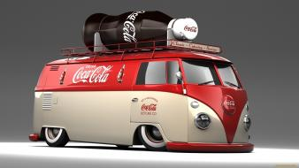 Coca-cola 3d render wallpaper