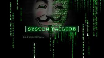 Code guy fawkes v for vendetta hacktavist wallpaper
