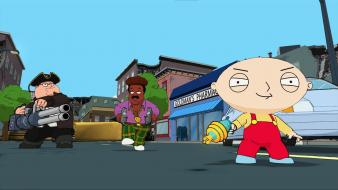 Family guy stewie peter griffin wallpaper
