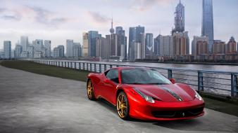 Ferrari shanghai 458 italia cities special edition wallpaper