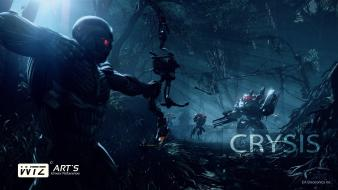 Fighting crysis 3 game wallpaper