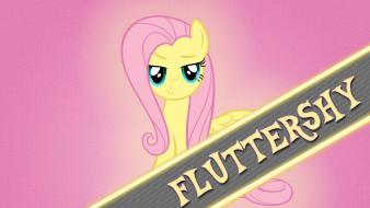 Fluttershy my little pony: friendship is magic wallpaper