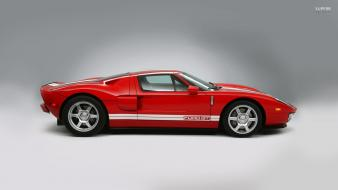 Ford gt exotic car red paint Wallpaper