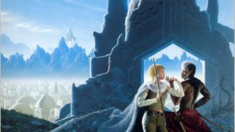 Golden artwork michael whelan wallpaper