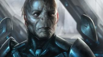 Halo concept art science fiction 4 didact wallpaper