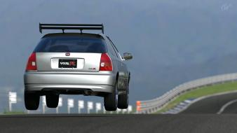 Honda civic type-r gran turismo 5 ps3 wallpaper