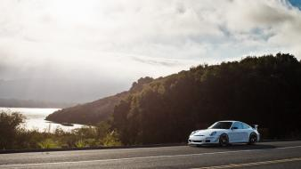 Landscapes porsche cars roads wallpaper