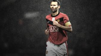 Manchester united fc ryan giggs football stars wallpaper