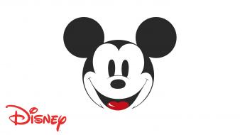 Minimalistic mickey mouse simple disney wallpaper