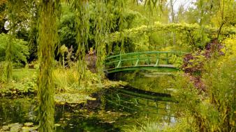 Nature normandy garden france monet giverny wallpaper