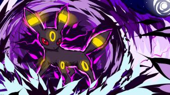 Pokemon dark darkness eevee umbreon eeveelutions ishmam wallpaper