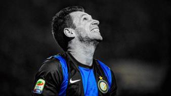Soccer hdr photography antonio cassano inter milan wallpaper