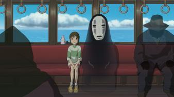 Spirited away ogino chihiro no face studio ghibli wallpaper