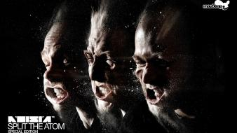 Split noisia dj the atom wallpaper