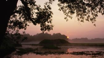 Sunrise nature alabama parks wallpaper