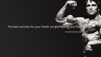 Text sports quotes arnold schwarzenegger actors bodybuilding wallpaper
