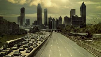 The walking dead tv shows street wallpaper