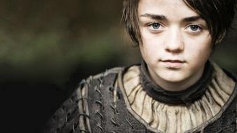 Thrones tv series arya stark maisie williams wallpaper