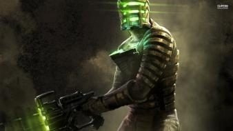 Video games dead space isaac clarke posters screens Wallpaper
