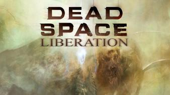 Video games dead space liberation wallpaper