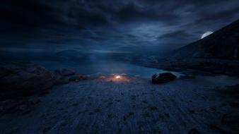 Video games dear esther wallpaper